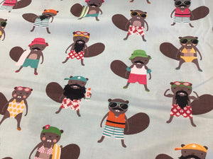 100% Cotton Canadian Beavers