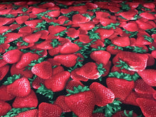 Load image into Gallery viewer, 100% Cotton Fresh & Fruity Strawberries