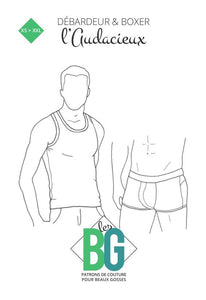 BG Sewing Patterns - The Bold (Tank Top & Boxer Briefs)