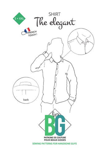 BG Sewing Patterns - The Elegant (Tailored Shirt)