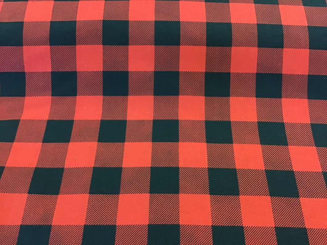 100% Cotton Canadiana Plaid