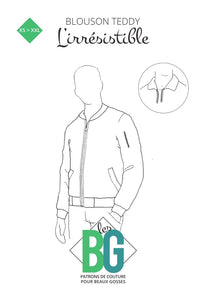 BG Sewing Patterns - The Irresistible (Bomber Jacket)