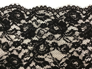Black Lace 59% Nylon 41% Rayon