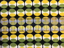 Load image into Gallery viewer, Green and Yellow Dots 97% Cotton 3% Spandex