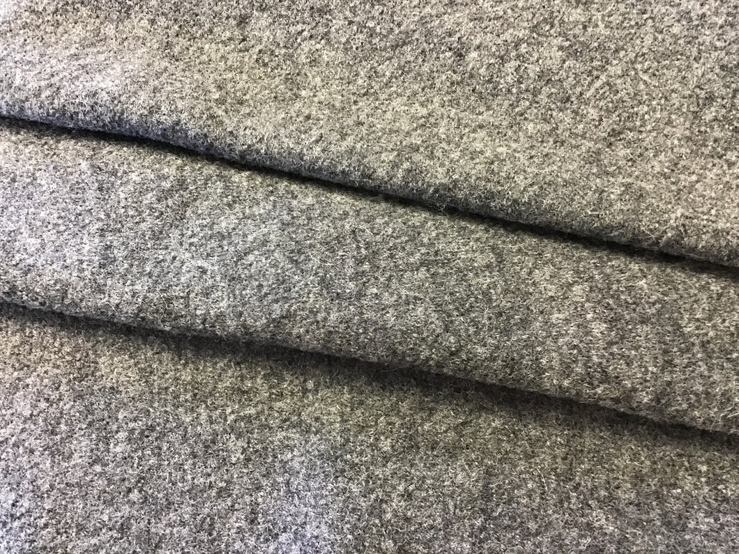 Grey 100% Boiled Wool