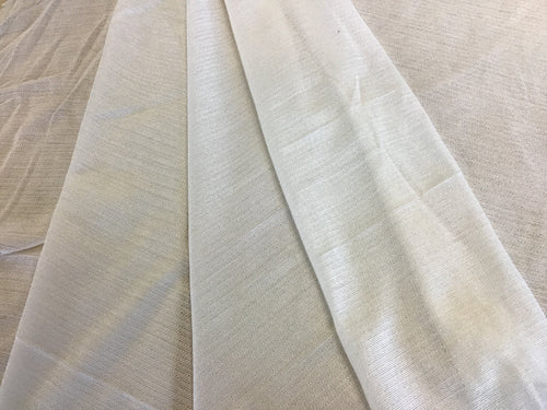 Cream Fusible Weft Heavy Weight Interfacing