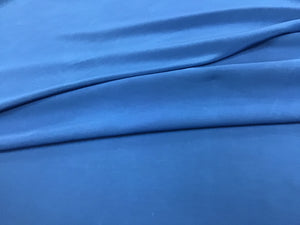Blue 100% Silk Georgette