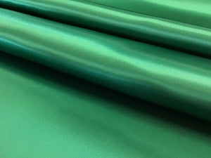 Emerald Green 100% Viscose Satin Lining