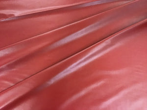 Red Stretch Pleather
