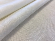 Load image into Gallery viewer, Large Weave White 100% Linen