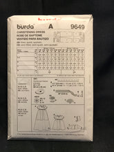 Load image into Gallery viewer, Burda 9649. Size 1m - 18m