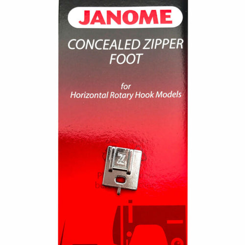 Janome Invisible Zipper Foot