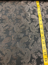 Load image into Gallery viewer, Mocha / Shot Brown Viscose Paisley Lining