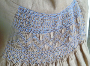 Introduction to Smocking . Sat November 2nd . 10:30 am - 4:30 pm
