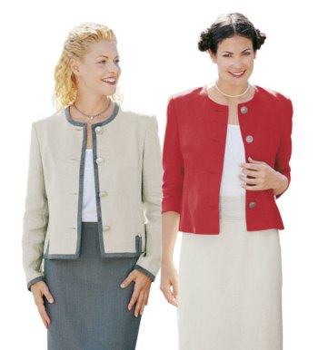 Ladies Unlined Blazer Saturday January 11th - February 1st 10:30 - 12:30