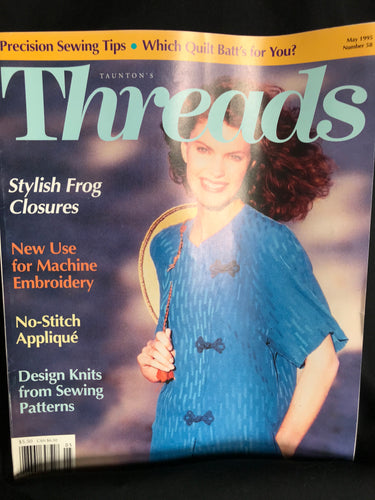 Threads Magazine Issue #58 May 1995