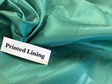 "Load image into Gallery viewer, Seafoam ""V"" Designer Bemberg Lining     1/4 Meter Price"