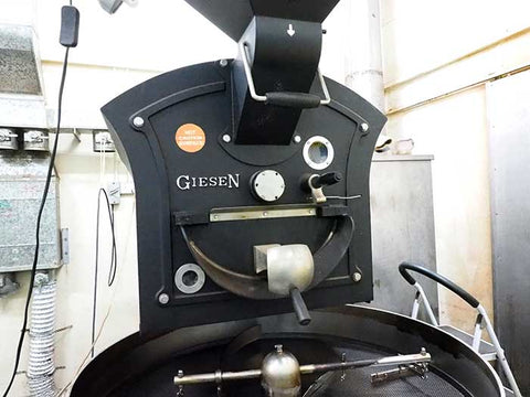 Geisen Roaster at Splendour Coffee