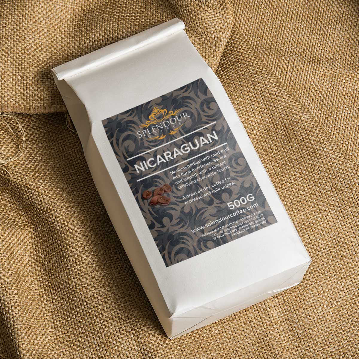 Nicaraguan Roasted Beans (500g)