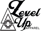 level up apparel logo