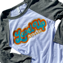 Load image into Gallery viewer, Retro 3/4 Sleeve Baseball Tee