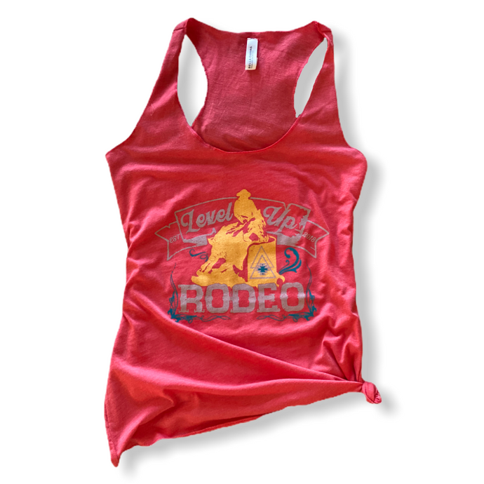 Level Up Rodeo Tank - Barrel Racer