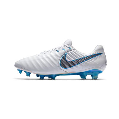 Nike Tiempo Legend VII Elite FG white blue - EUNIQUEBOOTS