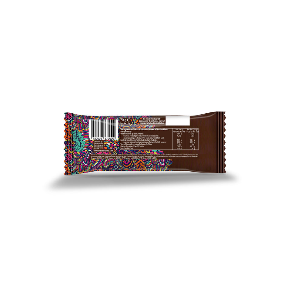 theBelgian Protein Bar back