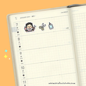 Crafting Time Planner Stickers