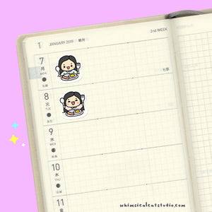 Meal Time Planner Stickers
