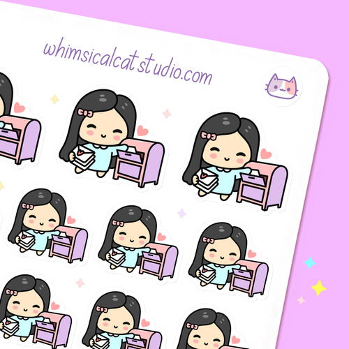 Drop Off Mail Planner Stickers