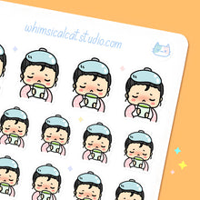 Load image into Gallery viewer, Sick Days Planner Stickers