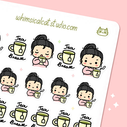 Tea Break Planner Stickers