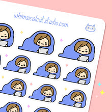 Load image into Gallery viewer, Cuddle Up In Blanket Planner Stickers