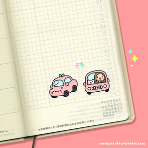 Roadtrip Planner Stickers
