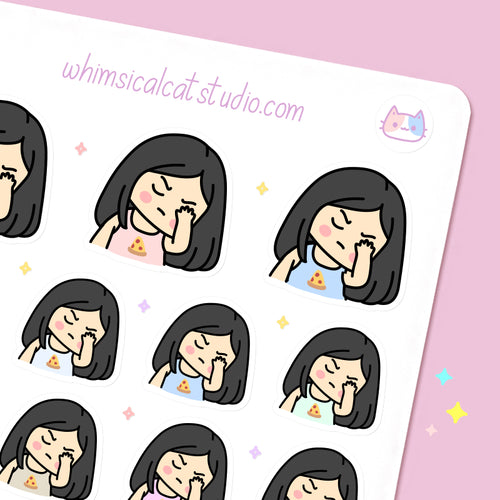 Face Palm - Planner Stickers