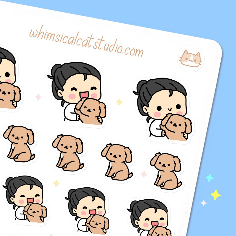 Dog Lover Planner Stickers