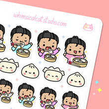 Load image into Gallery viewer, Dumplings Planner Stickers