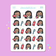 Load image into Gallery viewer, Toothbrush Planner Stickers