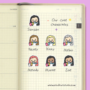 Toothbrush Planner Stickers
