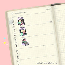 Load image into Gallery viewer, Cozy Reading Planner Stickers