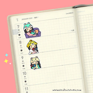 ACNH Planner Stickers