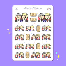 Load image into Gallery viewer, Movie Date Planner Stickers