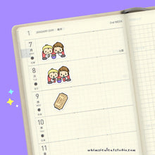 Load image into Gallery viewer, Whimsical Cat Studio Planner Stickers