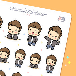 Boyfriend Planner Stickers