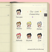 Load image into Gallery viewer, BFF Hug Planner Stickers