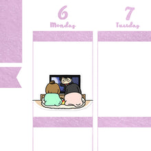 Load image into Gallery viewer, Get Cozy BFF Planner Stickers