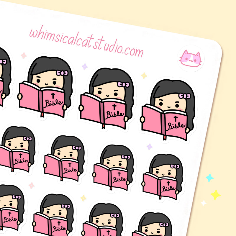 Bible Reading Planner Stickers