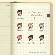 Load image into Gallery viewer, Bible Reading Planner Stickers