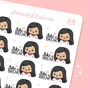 Take a Break Planner Stickers